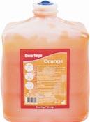 Swarfegat orange Deb savon microbilles colis de 6 x 2 litres