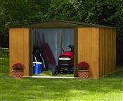Abri de jardin metal Arrow WL1012 acier galvanisé 10,70 m2