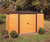 Abri de jardin Arrow WL106 en acier galvanisé 5 m2
