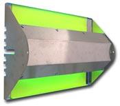 Destructeur d'insecte zone humide IP65 Flytrap 80 watts Inox