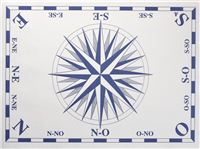 Acheter Nappe papier jetable deco Rose des vents 30 X 40 les 500