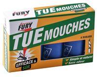 Acheter Ruban attrape mouche ruban glu Fury boite de 4
