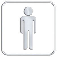 Acheter Pictogramme wc homme