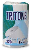 Acheter Essuie tout 3 plis super épais Tritone 12 rouleaux