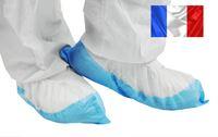 Acheter Surchaussure jetable semelle plastifiee bleue les 400