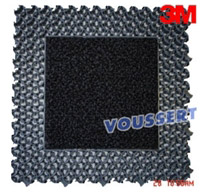 Acheter Tapis NOMAD modular Noir 8900 dalle mixte