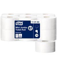 Acheter Papier toilette mini jumbo Tork 240m colis de 12 rouleaux