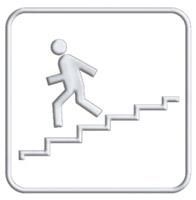 Acheter Pictogramme  accés escalier