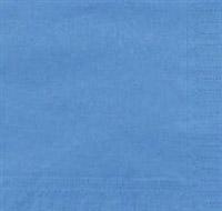 Acheter Serviette papier jetable 39 x 39 bleu azur 2 plis colis de 1800