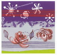 Acheter Serviettes papier Noel Prélude 40x40cm colis de 250