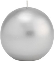 Acheter Bougie ronde argent diam 80 mm Duni