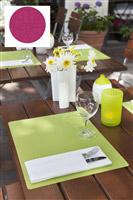 Acheter Set de table silicone fushia 30 x 45 cm Duni paquet de 6