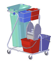 Acheter Chariot de ménage lavage rilsan