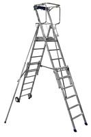 Acheter Plate-forme individuelle roulante télescopique Duarib 6 à 9 marches