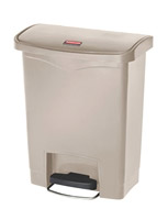 Acheter Poubelle Slim Jim Rubbermaid 30 L beige