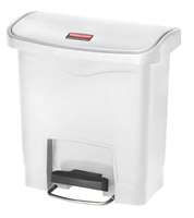 Acheter Poubelle Slim Jim Rubbermaid 15 L blanc