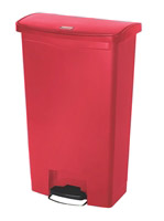 Acheter Poubelle Slim Jim Rubbermaid 68 L rouge