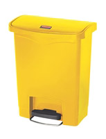 Acheter Poubelle Slim Jim Rubbermaid 30 L jaune