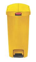 Acheter Poubelle Slim Jim Rubbermaid 50 L jaune étroit