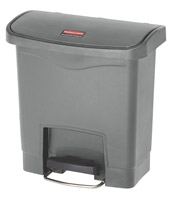 Acheter Poubelle Slim Jim Rubbermaid 15 L gris