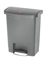 Acheter Poubelle Slim Jim Rubbermaid 30 L gris