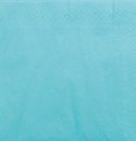 Acheter Serviette papier cocktail turquoise CGMP 20 x 20 cm carton de 1800