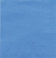 Acheter Serviette papier cocktail bleu azur CGMP 20 x 20 cm les 1800