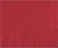 Acheter Serviette papier cocktail bordeaux CGMP 20 x 20 cm carton de 1800