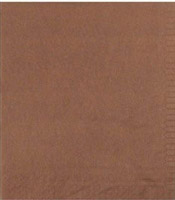 Acheter Serviette papier cocktail chocolat CGMP 20 x 20 cm paquet de 100