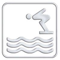 Acheter Pictogramme  accés piscine