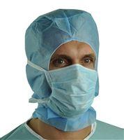 Acheter Masque chirurgical bleu lanières par 300