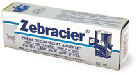 Acheter Zebracier renovation fonte acier pate tube de 100 ml