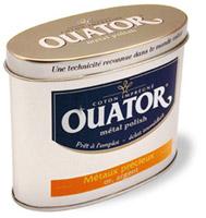 Acheter Ouator nettoyant metaux precieux or argent boite de 75 grs
