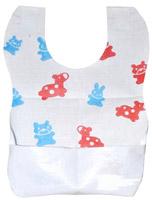Acheter Bavoir jetable bébé enfants PE 22x30 cm colis de 400