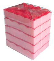 Acheter Eponge HACCP rouge lot de 4