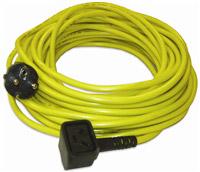 Acheter Câble electrique monobrosse Numatic 3x1,5mm jaune 20m nuplug