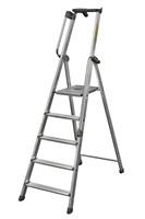 Acheter Escabeau aluminium avec rampe type XL 8 marches