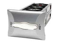 Acheter Distributeur Tork encastrable serviette enchevetrees finition métal