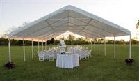 Acheter Tente de reception barnum 89 m2 7,3 x 12,2 m professionnelle