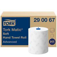 Acheter Essuie mains Tork Matic rouleau H1 advanced colis de 6
