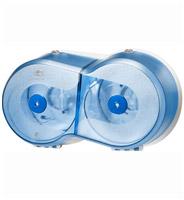 Acheter Distributeur papier toilette SmartOne mini Lotus bleu double
