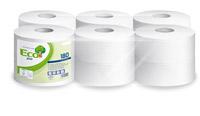 Acheter Papier toilette mini-jumbo blanc 180 m 2 plis 60 mm colis de 12