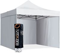 Acheter Tente pliable vitabri 3x6 blanc M2
