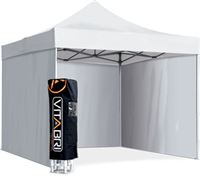 Acheter Tente pliable vitabri 3x3 blanc standard