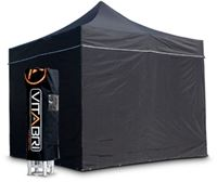 Acheter Tente pliable vitabri 3x6 noir standard