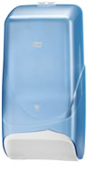 Acheter Distributeur papier toilette Marathon Lotus polycarbonate bleu