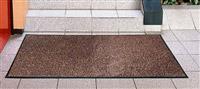 Acheter Tapis entree absorbant polypropylene 90X150 cm brun