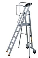 Acheter Escalier mobile de rayonnage 5 marches