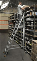 Acheter Escalier mobile de rayonnage 9 marches
