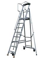 Acheter Escalier mobile de rayonnage 14 marches